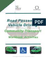 Driving Academy Communty Transport Workbook V2