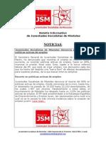 Boletín Informativo de Juventudes Socialistas de Móstoles (II)