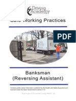 Banksman Reversing Assistant Workbook