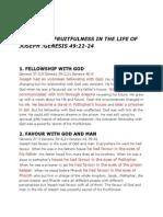 Secrets of Fruitfulness in the Life of Joseph.wrd