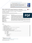 Effect of Biodiesel From Various Feedstocks on Combustion