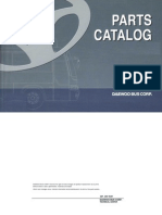 Euro III BH117L Chassis Parts Catalog