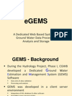 Egems Databese System
