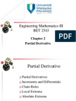 Chapter 2 Partial Derivative