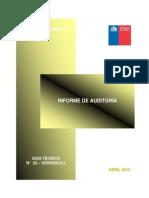 Informe de Auditoria Chile
