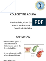 Colecistitis aguda - Exposición