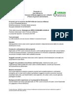 Comitato Basta Cemento - Proposte Nuovo PGT