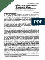 Metodologias de Investigacion en El Diseño