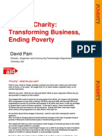 Beyond Charity, Transforming Businesses, Ending Poverty. David Pain