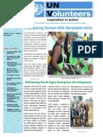 UNV Zambia Newsletter January - March 2014