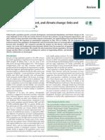 2013 - UCL - Lancet - Popn d'Ment Climate Change and Health