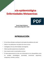 Vigilancia epidemiológica METAXENICAS