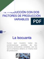 Semana 3 - Tema 2- Produccion Con Dos Factores Varaibles