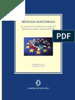 Manuale elezioni europee 25 maggio 2014 in Italia