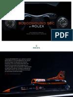 Rolex Bloodhound Presskit FR