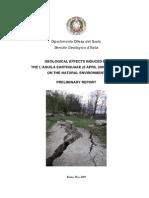 2009 abruzzo earthquake report