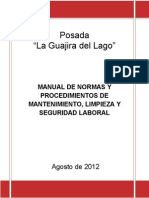 Manual de Nor y Proc de Matto y Limpieza