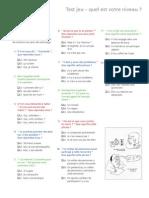 Questionnaire - Fr