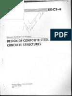 EBCS 4-Design of Composite Steel & Concrete Structures