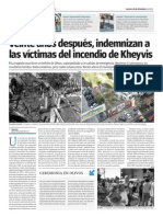 El vigésimo aniversario de la tragedia de Kheyvis