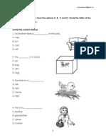 Exam Paper Year 1