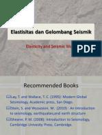 Seismologi_3_Elastisitas Dan Gelombang Seismik