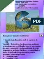 Apresentação em PPT- Redução de Impactos Ambientais