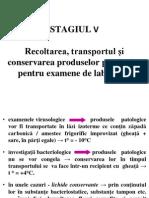 Stg5_Recoltarea Produselor Patologice