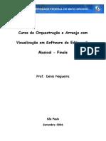 Curso Instrumentacao Arranjo e Editoracao Finale-libre