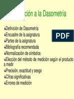 Introduccion a La Dasometria