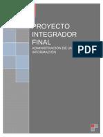 Administración de Unidades de Información