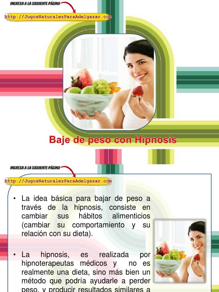 Hypnosis para bajar de peso df
