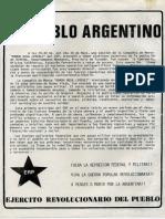 Al Pueblo Argentino