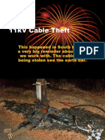 11kV Cable Theft