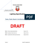 DRAFT ISSUE - Lighting Specs - ADM