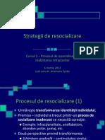 Curs 2 Strategii Resocializare