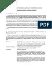III Master Profesional en Hidrologia Subterranea - Informacion General y Normas Docentes