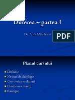 Durerea p1
