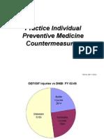 Preventive Medicine Countermeasures