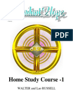 Walter Russell Home Study Course 1