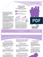 Early On Family Rights Brochure (Spanish) Updated
