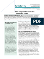 Review of EPA's Integrated Risk Information System (IRIS) Process