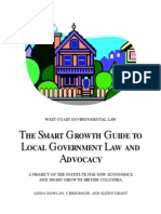 The Smart Growth Guide to Local Government Law and Advocacy