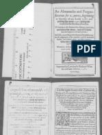 Bourne William d 1583-An Almanacke and Prognostication-STC-418-2345 06-p1to54
