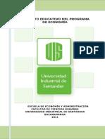 Proyecto Educativo Del Programa de Economia
