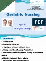 2014-Bridging Courses-Introduction to Geriatric Nursing