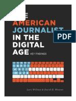 2013 American Journalist Key Findings