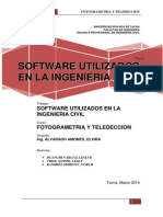Software Utilizados en La Ing. Civil