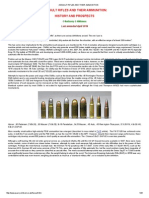 Assault Rifles and Their Ammunition