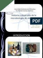 Historia y Desarrollo de La Microbiología de Alimentos